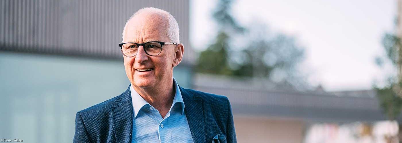 Regionalbischof Klaus Stiegler